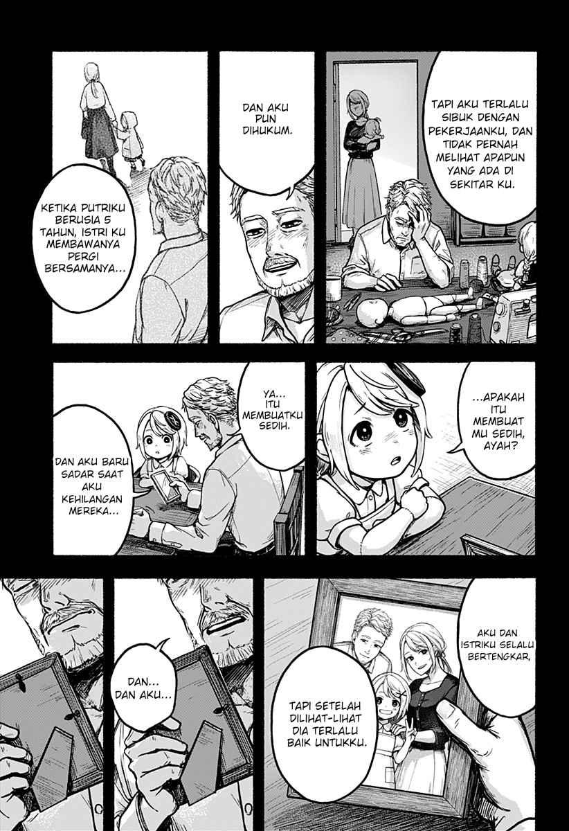 Spoiler Manga One-Armed Amy 1