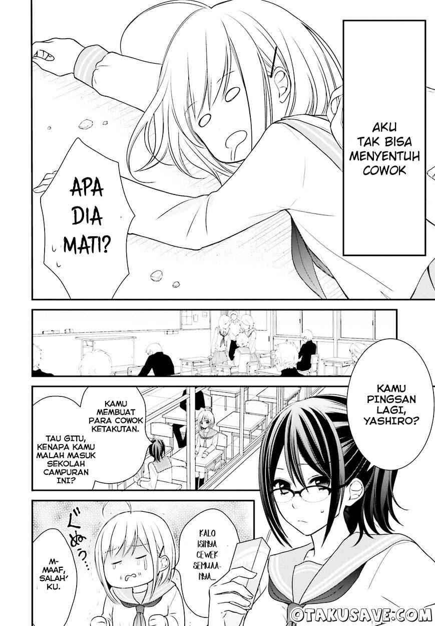 Spoiler Manga Yuri na Watashi to Akuma na Kanojo (?) 1